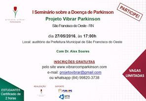 I Seminário Sobre Doença de Parkinson