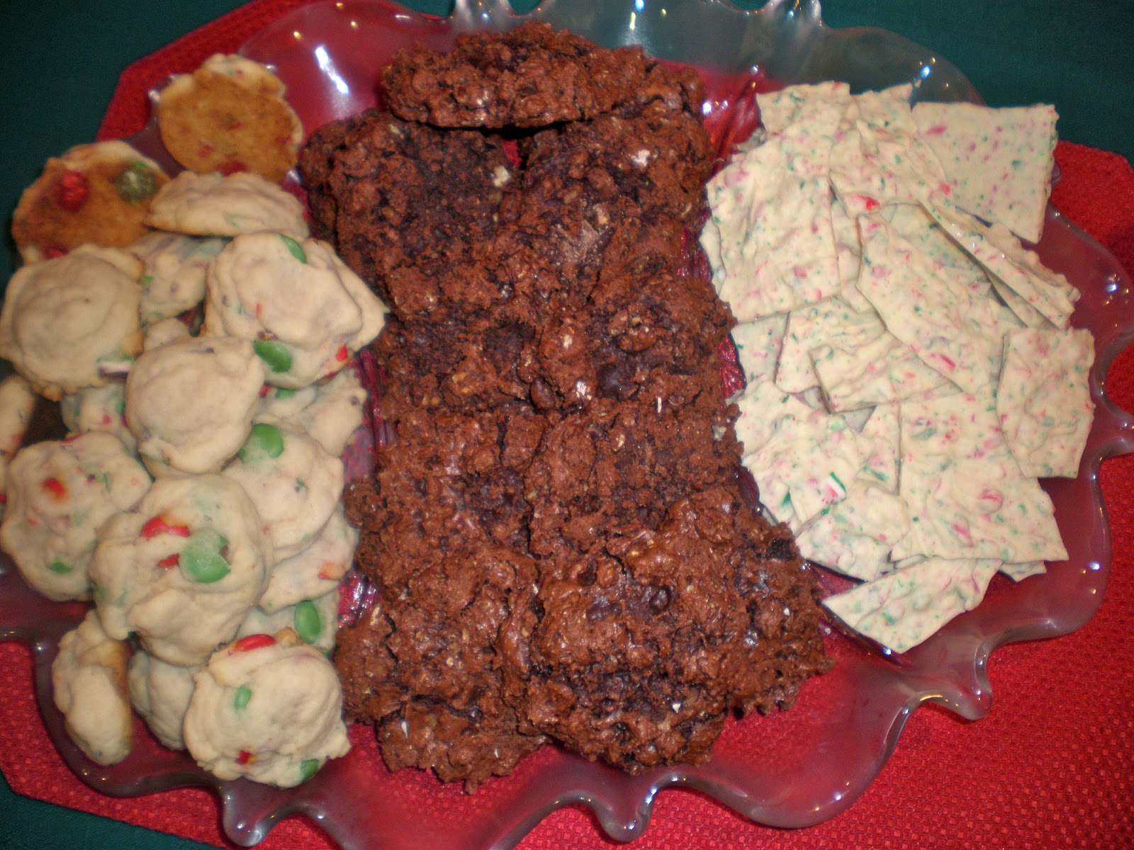 Teacups and Cake: Flourless Chocolate Walnut Cookies