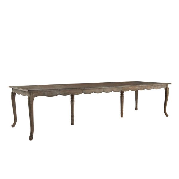 French Country Dining Table With Leaves