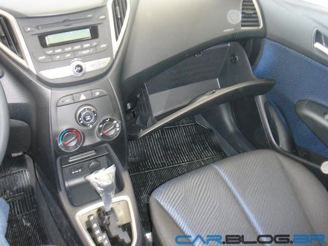 carro HB20 Hyundai Automático - interior