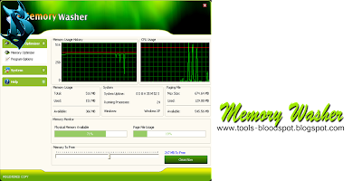Memory Washer 7.1.0 Full Free Download