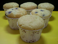 Muffin - Blueberry dan Vanila