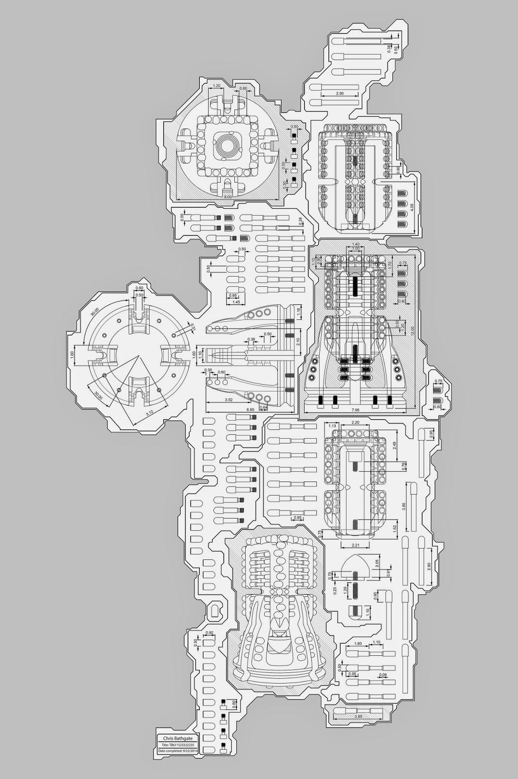 Machine Art,technical Schematic, blueprint Art