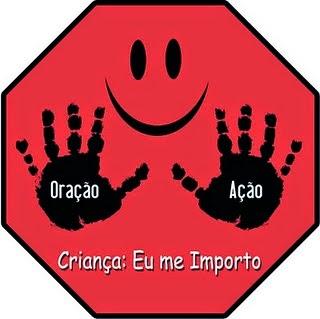 ORE E AJA EM FAVOR DAS NOSSAS CRIANÇAS!