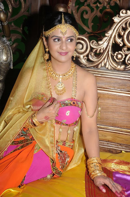 Charulatha Spicy Actress in Traditional Chania Choli Spicy Pics