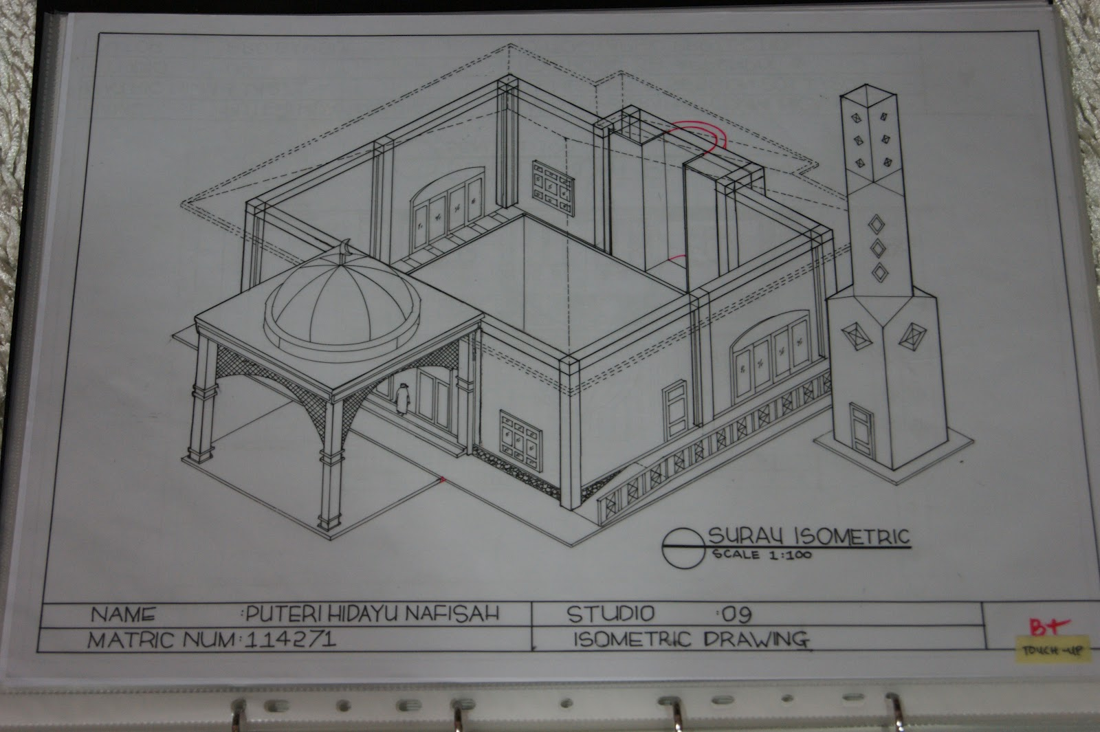 pillow drawing isometric - HD1600×1065