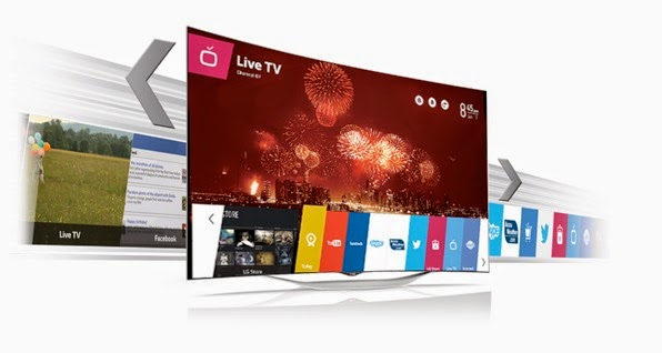 Ultra HD TV,曲面電視,Curved OLED