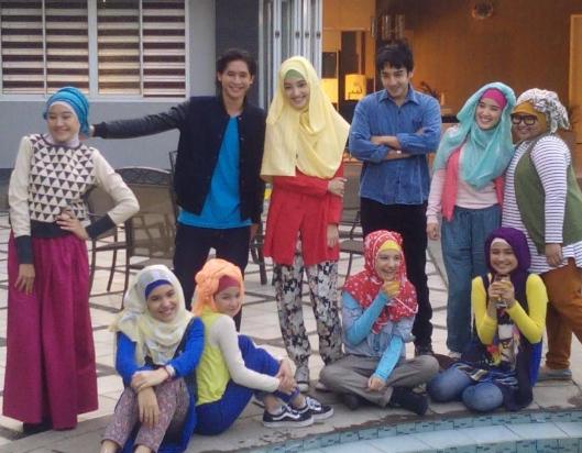 Foto Aisyah Putri The Series Jilbab in Love