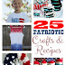 25 Patriotic Crafts & Recipes PLUS 3 FREE Music Downloads when you buy $6 worth of Scott® Products at Dollar General!