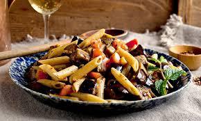 Eggplant Penne Recipe