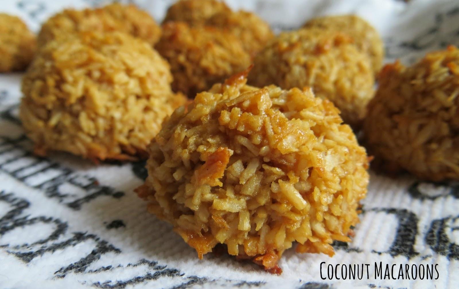Cooking Quidnunc: Healthier Coconut Macaroons.