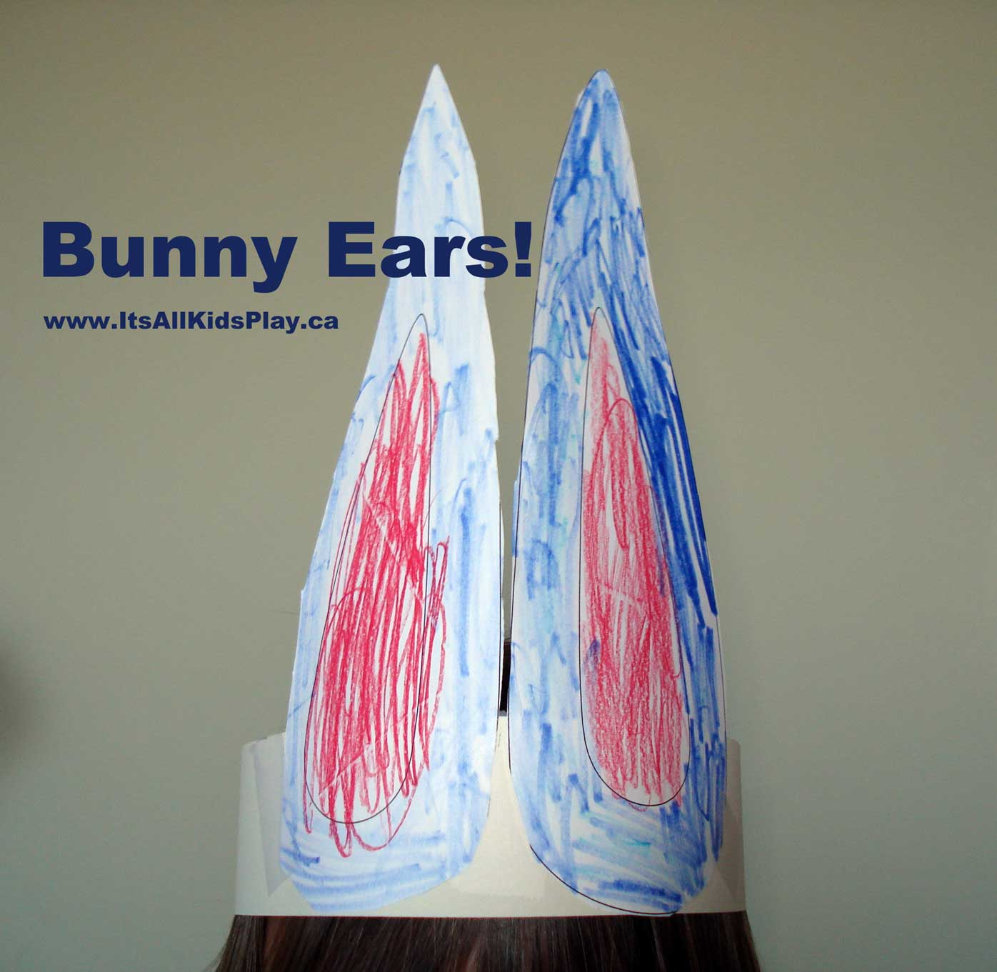 Bunny Ears Headband Craft For Easter Its All Kids Play