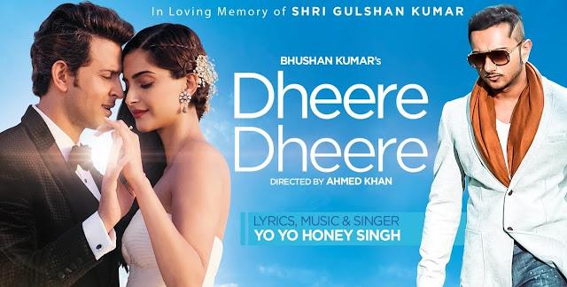 Dheere Dheere Se Guitar Song - Honey Singh, Hrithik Roshan, Sonam Kapoor