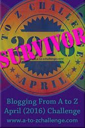 2016 A-Z Blog Challenge