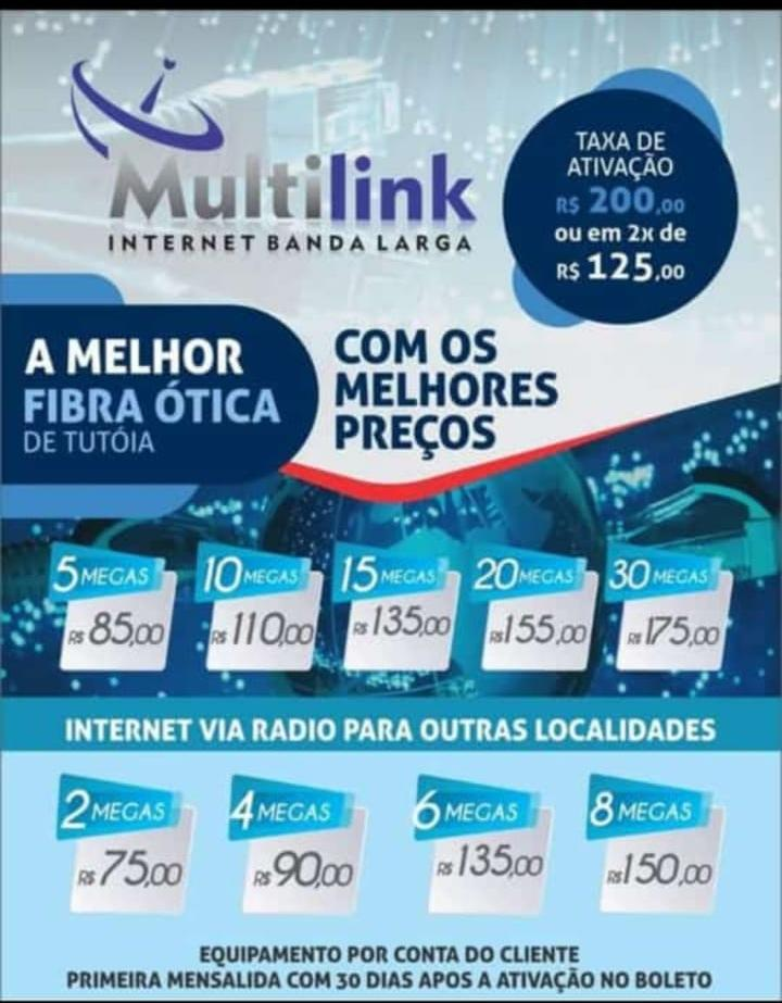 Multilink internet banda larga