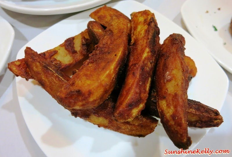 cajun wedges, Father's Day, Feast on Ribs, Chicago Rib House