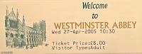 Στο Αβαείο του Westminster :