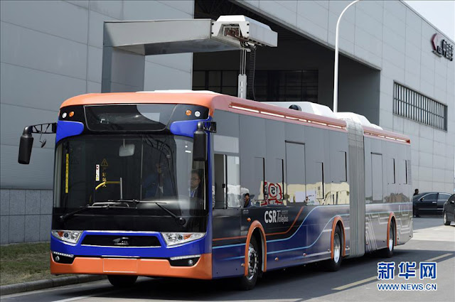 World's fastest rechargable electric bus