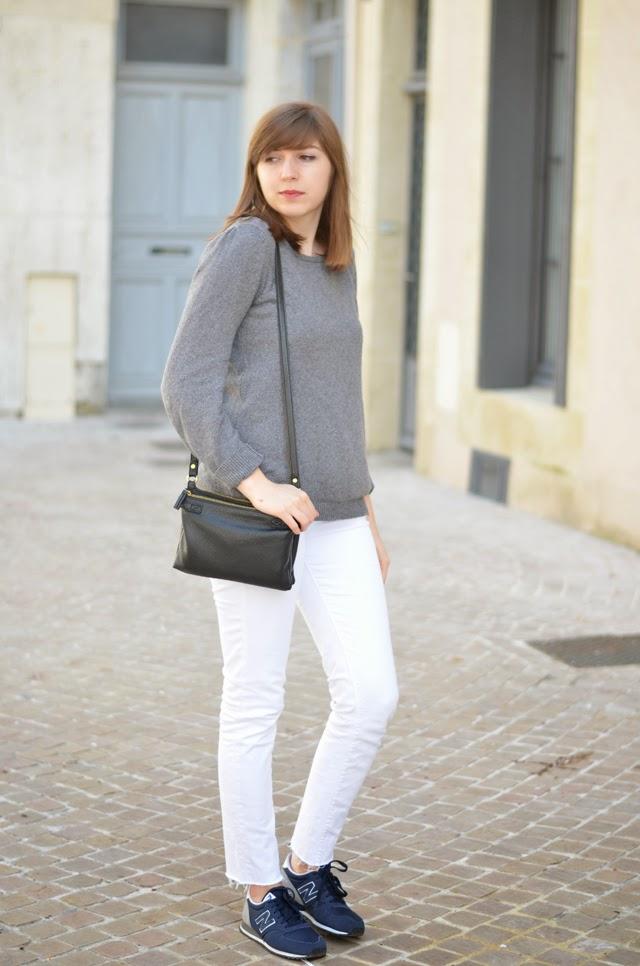 manteau bleu jean blanc new balance 420