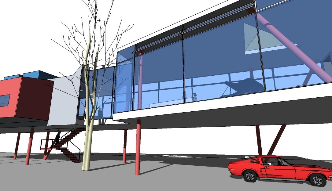 Alexandre Piacsek Experimental Architecture Modern House Project