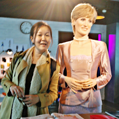 Lady Diana at Grevin Seoul | www.meheartseoul.blogspot.com