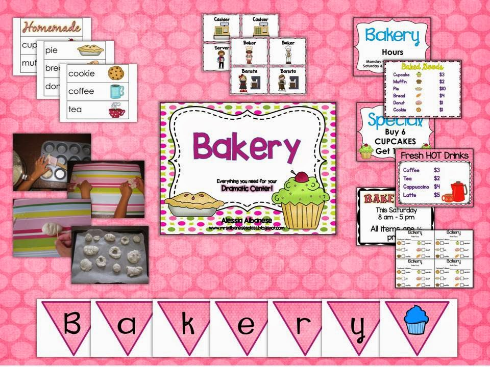 http://www.teacherspayteachers.com/Product/Bakery-Dramatic-Play-Center-1421049
