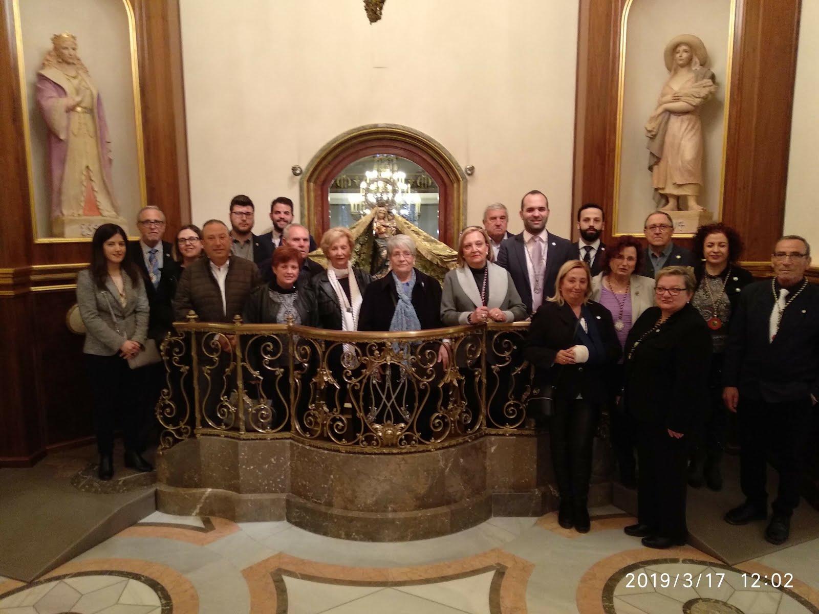Peregrinació anual de l'Agrupació d'Associacions de la Setmana Santa de Reus