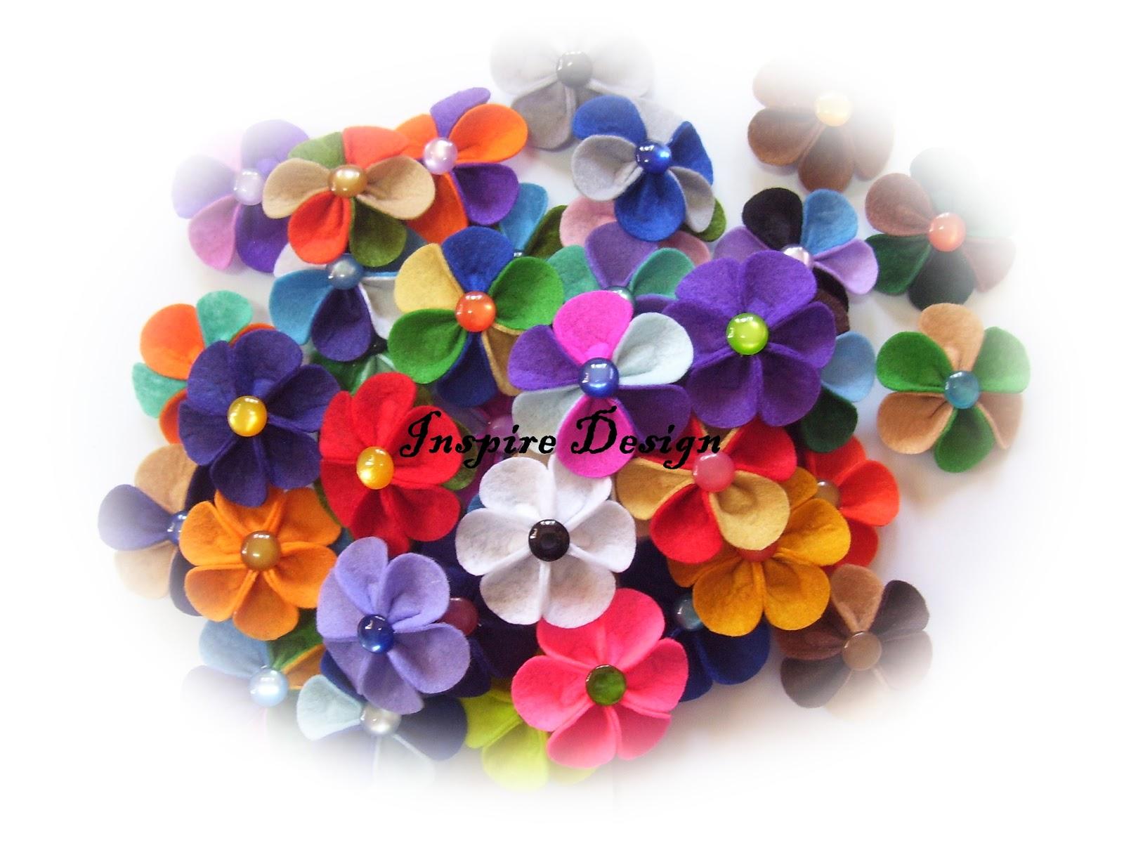Bunga-bunga KembojaAnggun Mekar Di Taman Hati