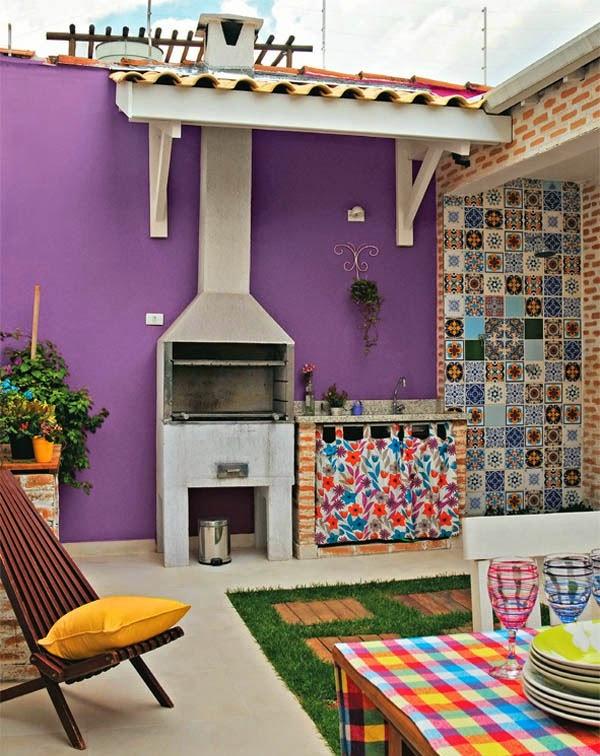 Colores para las paredes del patio o la terraza   guia de jardin ...