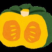 カボチャのイラスト(野菜)