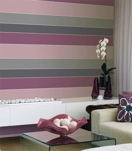 Boutique papel pintado only stripes - Papeles pintados a rayas ...