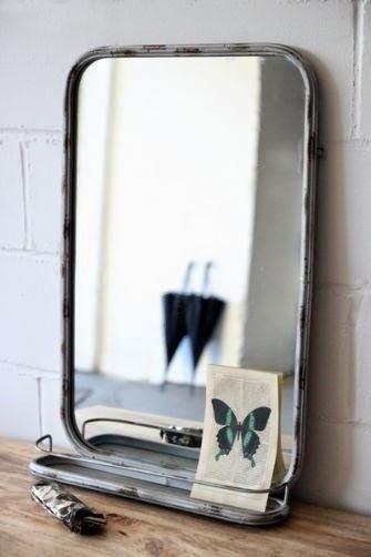 espejo con balda de maison du monde