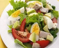 Ensalada de Tomates, Aji y Huevos