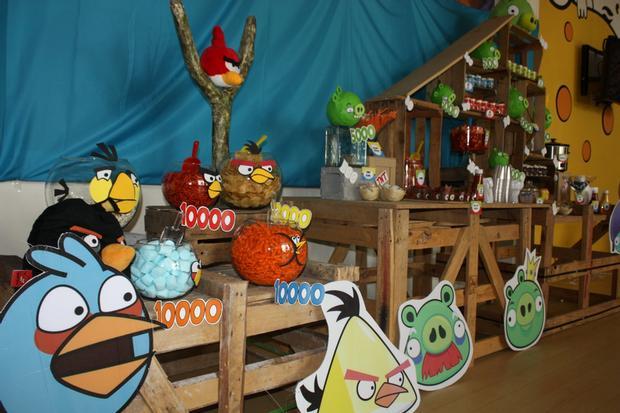 Fazendo a Minha Festa Infantil Ideias para Festa Angry Birds!