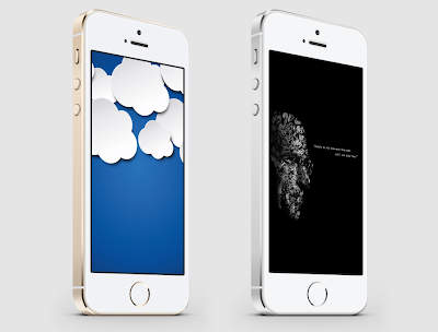 Wallpapers of the week sunny clouds and Steve Jobs