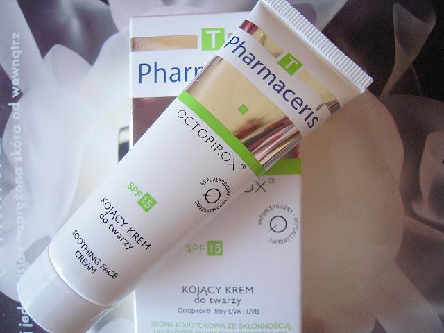 Pharmaceris T, Octopirox - kojący krem do twarzy