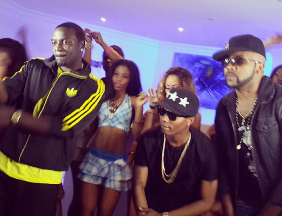 Star Boy Wizkid Set to Shoot Roll it Video with Akon.