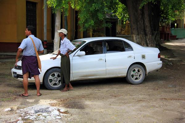 Transporte taxi desde Mandalay al Puente U-Bein de Amarapura