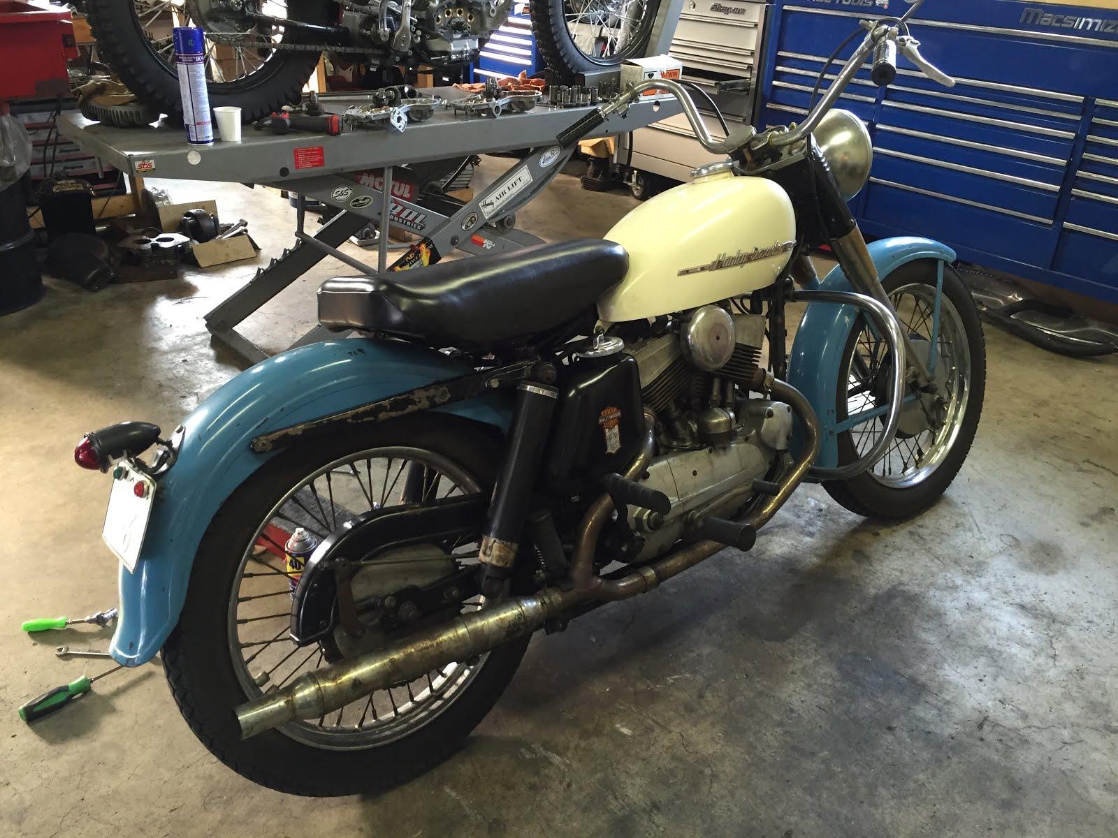HARLEY 1952 K-MODEL