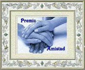 """Premio Amistad"" desde el blog ""Cuerpo sano Alma calma"""