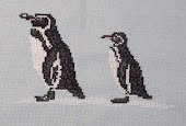 Penguins Stitched by Mummy