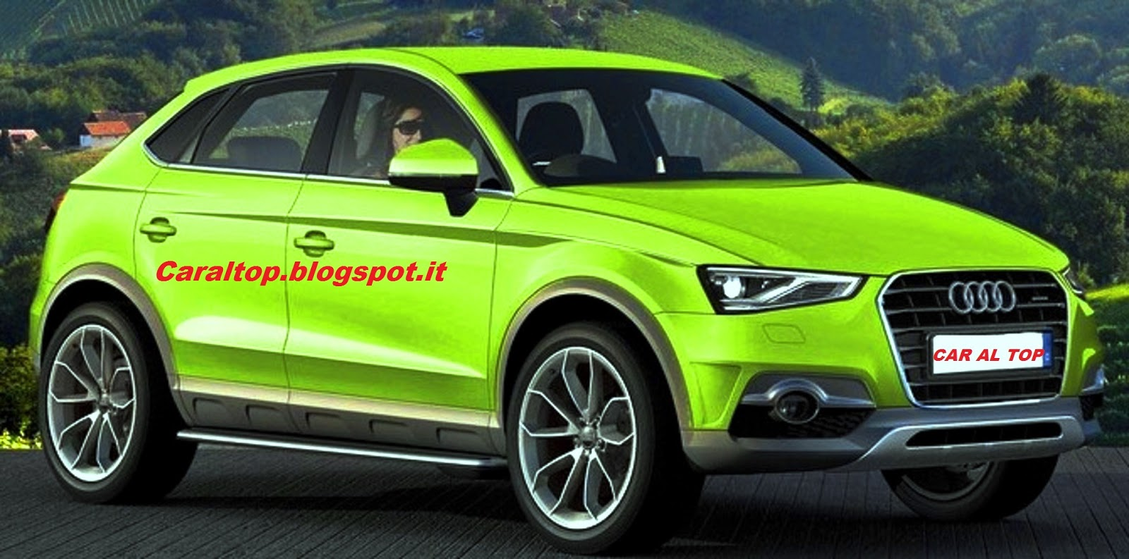 Car al Top 33: Audi Q2: Il futuro baby Crossover di Ingolstadt