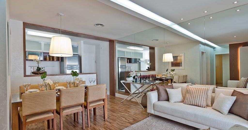 Sala De Estar O Living Room ~  SALA COMEDOR SALA DE JANTAR E ESTAR LIVING ROOM DINING  DISENO DE