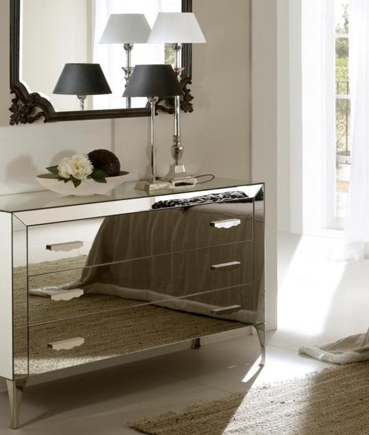 Mobili D\'Elia: Ispirazione #1 / Camera da letto bianca e grigia
