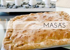 Recetas de Masas; Pan, Empanadas, Empanadillas