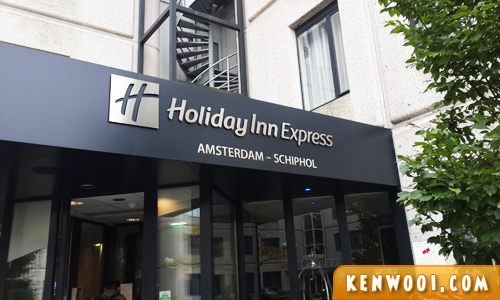 amsterdam holiday inn express