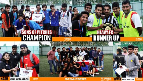 SOP FC beat Heavy FC to win FC Bengal Cup 2015