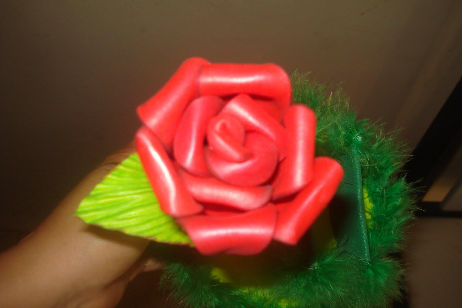 PAP   Como Fazer Rosa Sem Frisador E A Montar Enfeites De Ca A