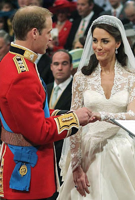 Foto Pangeran William dan Kate Middleton nikah