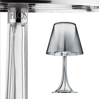 Flos Miss K Table Lamps in Transparent diffuser / finish, designer collection